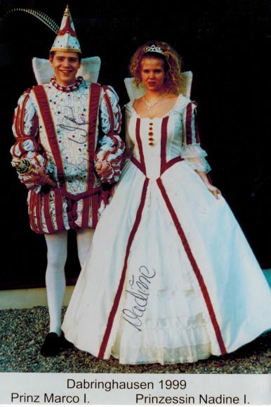 Prinzenpaar 1998/1999